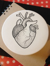 Ceramic Heart Box