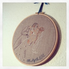 Anniversary Embroidery